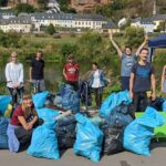 Mosel Clean-Up 2020 in Trier - Ein voller Erfolg!