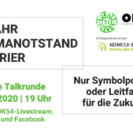 Digitale Talkrunde zum Klimanotstand in Trier am 18.11.2020